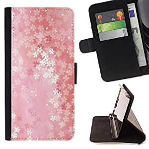 For Sony Xperia m55w Z3 Compact Mini Floral pattern Style PU Leather Case Wallet Flip Stand Flap Closure Cover