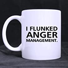 Top Funny Quotes - I FLUNKED ANGER MANAGEMENT Morphing Coffee Mug or Tea Cup,Ceramic Material Mugs - 11oz