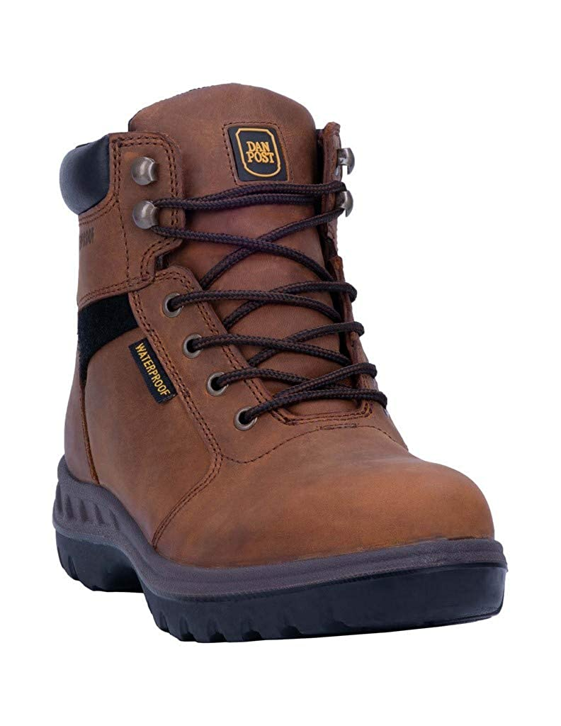 Image of Dan Post Men's Lace up Industrial Boot, TAN Fire & Safety Boots