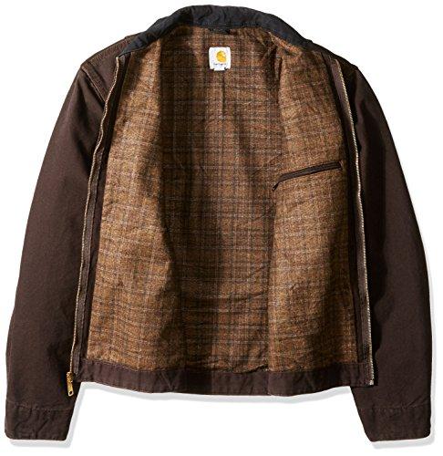 857800db89c Amazon.com: Carhartt Men's Big & Tall Blanket Lined Sandstone Detroit Jacket  J97: Clothing