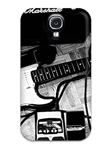 GaJKRId22429STAKb Tpu Phone Case With Fashionable Look For Galaxy S4 - Black And White