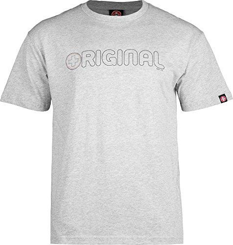 Bones Original Swiss (Bones Bearings Swiss Original Heather T-Shirt, XX-Large)