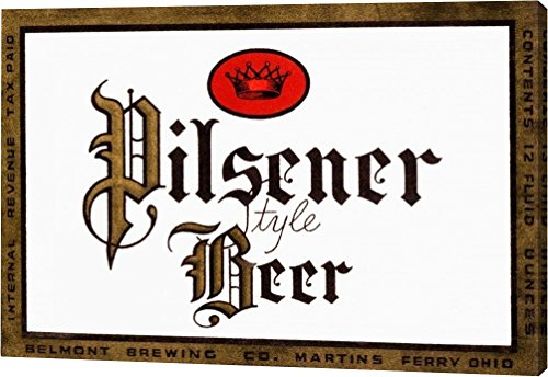 Pilsener Style Beer by Vintage Booze Labels - 7