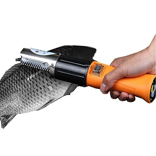 Electric fish scaler maque fishing cleaner skinner scale for Electric fish scaler