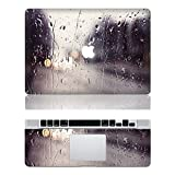 "Vati Leaves Removable Rain Protective Full Cover Vinyl Art Skin Decal Sticker Cover for Apple MacBook Pro 13.3"" inch (A1278)"