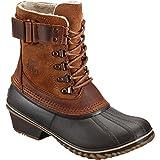 Sorel Women's Winter Fancy Lace II Boot,Elk/Grizzly Bear,8.5 M US