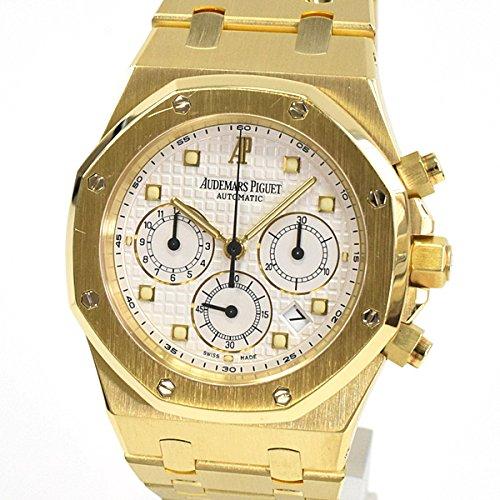 [オーデマピゲ]AUDEMARS PIGUET 腕時計 ロイヤルオーク 25960BA.00.1185BA.01 中古[1299641]ホワイト 付属:国際保証書 ボックス B07DPCG7P6