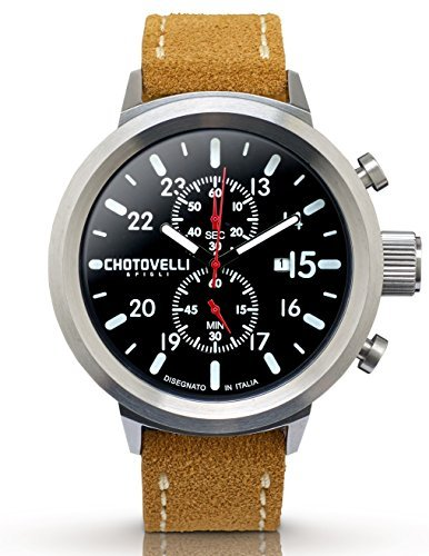 Chotovelli Big Pilot Mens Watch Chronograph Analog for sale  Delivered anywhere in Canada