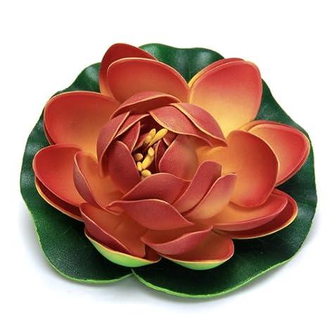 Flor De Loto Ornamento Planta Para Acuario Pecera Fish Tank Lotus: Amazon.es: Productos para mascotas