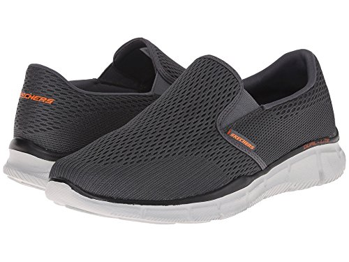 [SKECHERS(スケッチャーズ)] メンズスニーカー?ランニングシューズ?靴 Equalizer Double Play Charcoal/Orange 11.5 (29.5cm) E - Wide