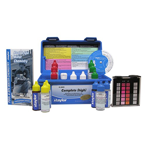taylor Deluxe DPD Pool and Spa Water Test Kit – K-2005