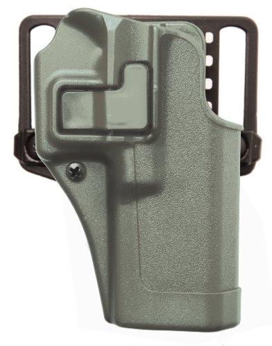 BLACKHAWK! Serpa CQC Carbon Fiber Foliage Green Holster (Matte Finish), Size 04, Left Hand, (Beretta 92/96(not Elite/Brig.or M9A1)