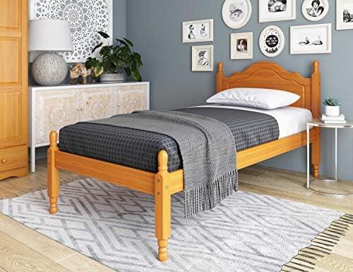 100 Solid Wood Reston Panel Headboard Platform Bed 1434
