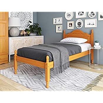 Amazon Com 100 Solid Wood Reston Panel Headboard