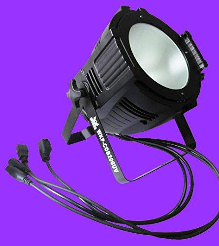 WecanLight UV Led COB Par Light 200w Purple Led Lamp, Use For Disco, Ballroom, KTV, Bar ,Club, Party, Wedding