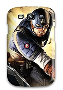 For Renita J Taylor Galaxy Protective Case, High Quality For Galaxy S3 Captain America Skin Case Cover