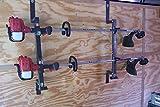 2 Place Enclosed Locking Trimmer Rack (PK-5-6S-6S2) by Pack'em Racks