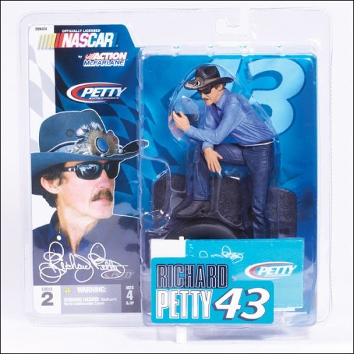 "Richard Petty #43 Action Mcfarlane 6"" Figure Series 2"