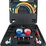 ACTECmax A/C Air Condition R134a Manifold Gauge Set Kit A...