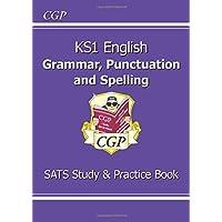 KS1 English Grammar, Punctuation & Spelling Study & Practice Book (CGP KS1 English SATs)