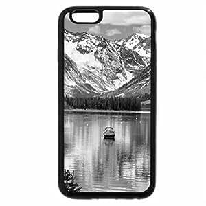 iPhone 6S Case, iPhone 6 Case (Black & White) - Jackson lake