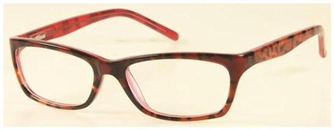 CANDIES Eyeglasses C OPALINE Burgundy Tortoise 51MM at Amazon Men\'s ...