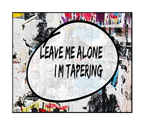 Makoroni - Leave ME Alone I'M Tapering Runner Sport - Jigsaw Puzzle, 30 pcs.