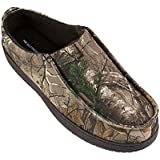 Realtree Men's Nylon Camo Print, Clog Slipper, Large / 10-11