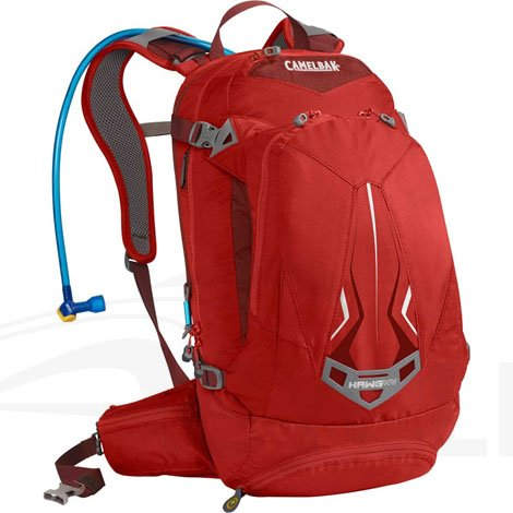 Camelbak H.A.W.G. NV 100 oz Hydration Pack, Chili Pepper/Charcoal, Outdoor Stuffs