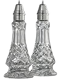 Acquisition Belleek Pottery Galway Crystal Ashford Salt and Pepper, 7.5-Inch, Clear, Set of 1 occupation