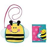 Stephen Joseph Bee Crossbody Purse and Bee Wallet Combo - Little Girl Purses