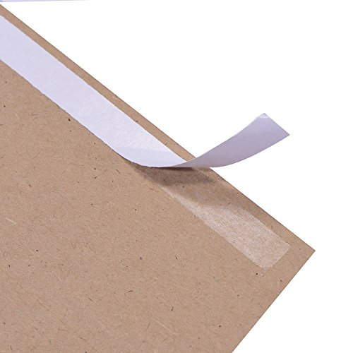 A7 Brown Kraft Paper Invitation 5 x 7 Envelopes - 50 Pack,Self Seal,for 5x7 Cards| Perfect for Weddings, Invitations, Baby Shower| Stationery for General, Office | 5.25 x 7.25 Inches Photo #4
