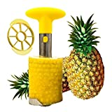 SameTech Stainless Steel Fruit Pineapple Peeler, Corer, Slicer, Cutter, Knife and Wedger