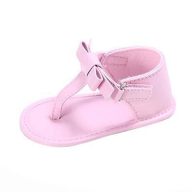 ce40c1d912a72 Manadlian Chaussures Bébé Bébé Sneakers Sandales Fille Crèche Chaussures  Nouveau-Né Fleur Semelle Souple Anti