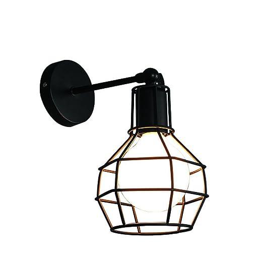 Lámpara de pared retra industrial lámpara de pared antigua de la ...