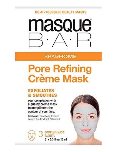 (masque BAR Pore Refining Creme Mask - Refining Face Mask, 3-Set)
