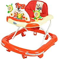 PANDA Creation Adjustable Musical Walker (RED)