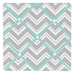 Sweet Jojo Designs Turquoise and Gray Ch...