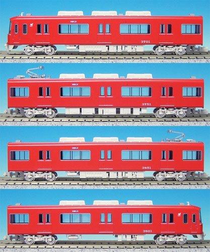 グリーンマックス Nゲージ 30106 名鉄3700系1次車 増結4両編成セット (動力無し)の商品画像