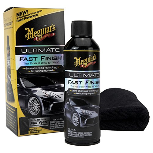 Fast Spray Wax Car (Meguiar's G18309 Ultimate Fast Finish, 8.5 oz.)