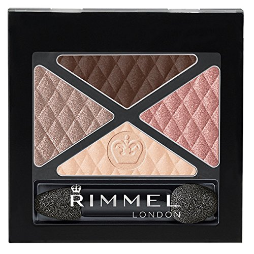 Rimmel Glam 'Eyes Quad Eye Shadow, Mayfair, 0.15 Fluid Ounce