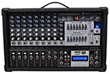 Rockville RPM109 10 Channel 4800w Powered Mixer, 7 Band EQ, Effects, USB, 48V