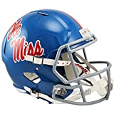Mississippi Ole Miss Rebels Blue Officially Licensed NCAA Speed Full Size Replica Football Helmet