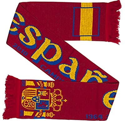 Spain Espana Soccer Knit Scarf