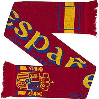 Espana España Soccer Knit Bufanda: Amazon.es: Deportes y aire libre