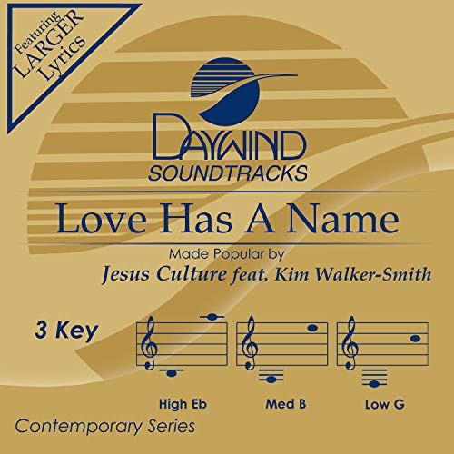 Love Has A Name [Accompaniment/Performance Track] - Name Accompaniment Cd
