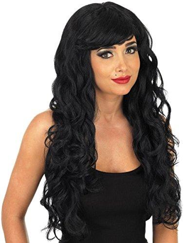 Black Temptress Costumes Wig (Black Long Women's Temptress Wig)