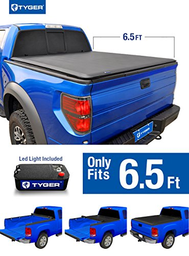 Sierra New 2007 Gmc Body - Tyger Auto TG-BC1C9004 TOPRO Roll Lock Pickup Tonneau Cover Fits 07-13 Chevy/GMC Silverado/Sierra (New Body Style) 6.5' Standard Bed