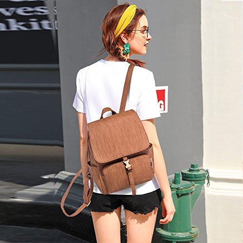 Sac Brown Fashion Coupe la Anniversaire du Tisdaini Bag de Monde remportant 20ème Le France Dos Femme à la Casual félicitations pSwdqA