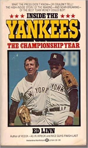 Image result for images of inside the yankees by ed linn